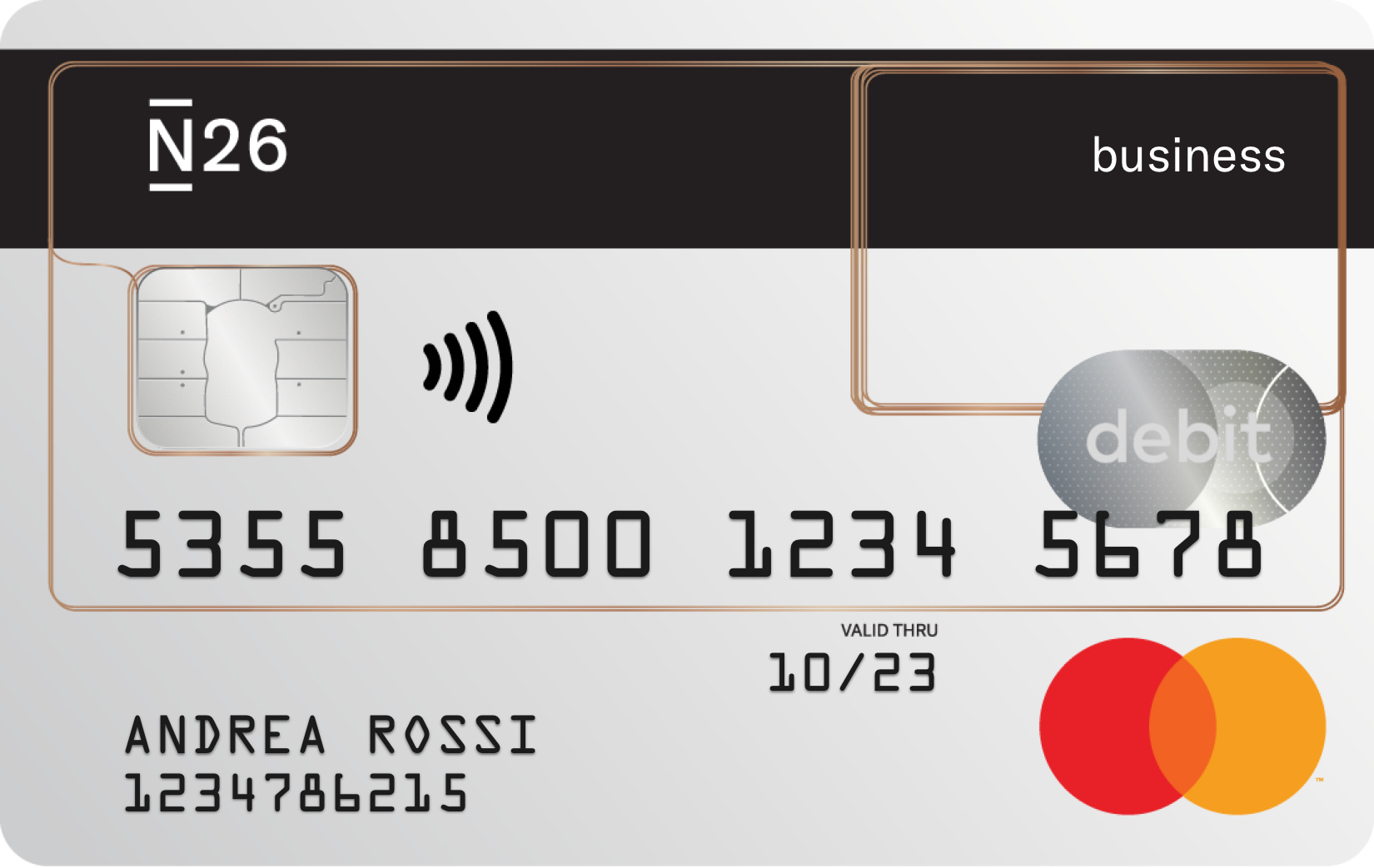 N26 Business - La carta conto prepagata per i freelance