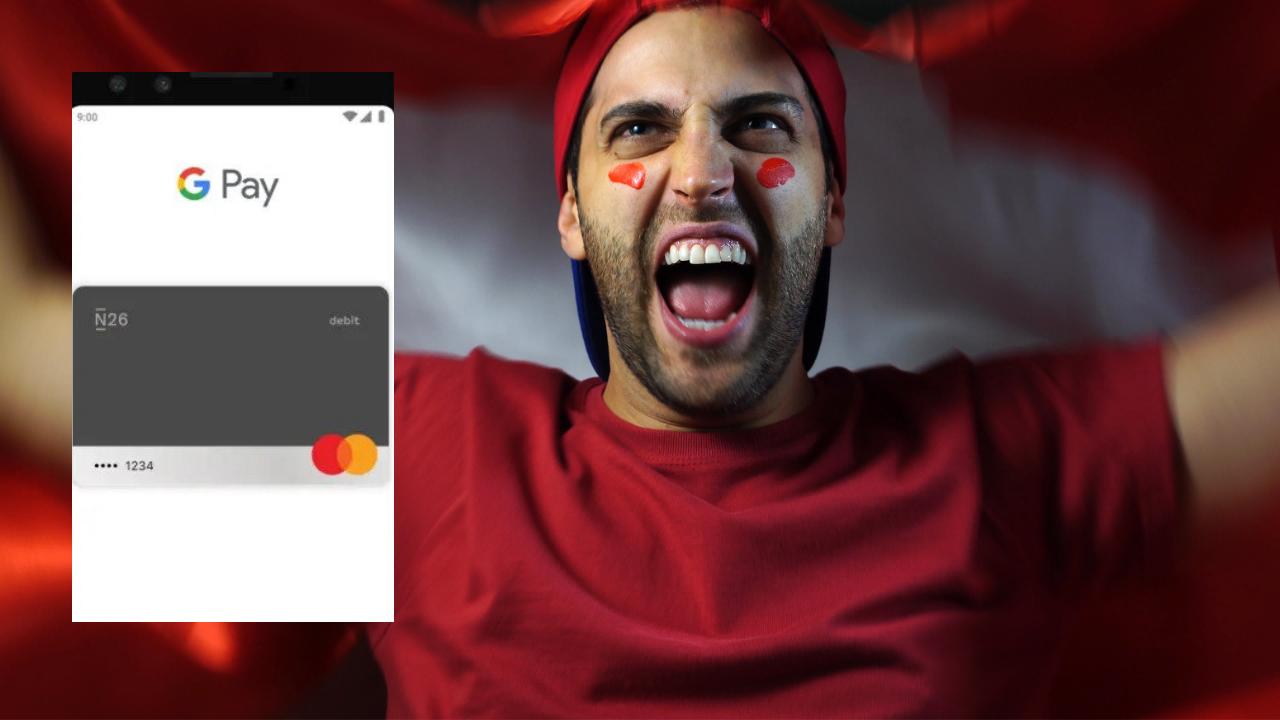 Google Pay in Svizzera anche con N26